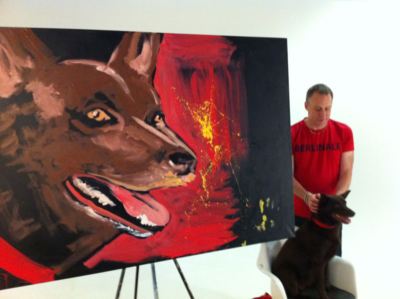 Red Dog and Movie Producer Nelson Woss