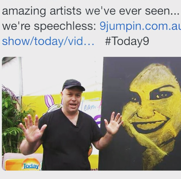 2015 Today show appearance