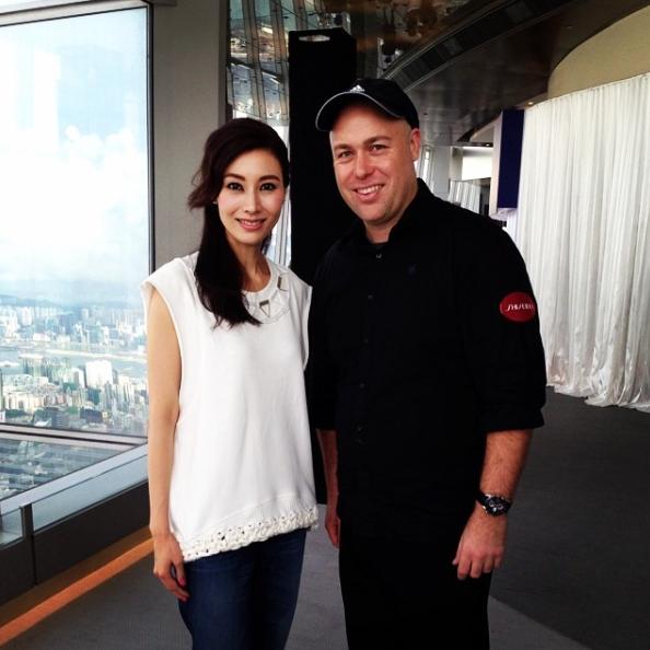 Michelle Reis, Shiseido Cosmetics launch Hong Kong