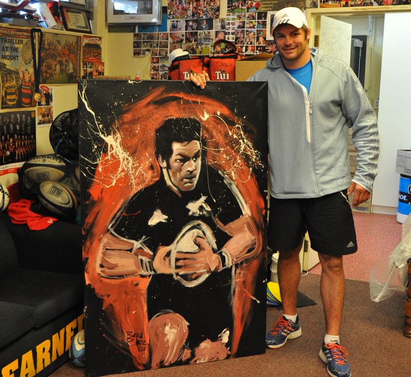 All Blacks NZ Captain Richie McCaw