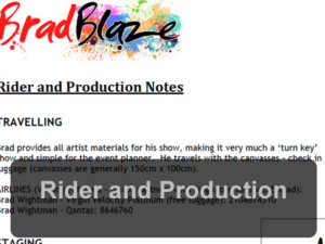 Rider & Productions Pdf