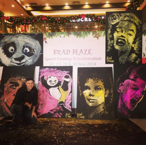Turbo Home - Brad Blaze | Speed Painter & Performance Artist WY26